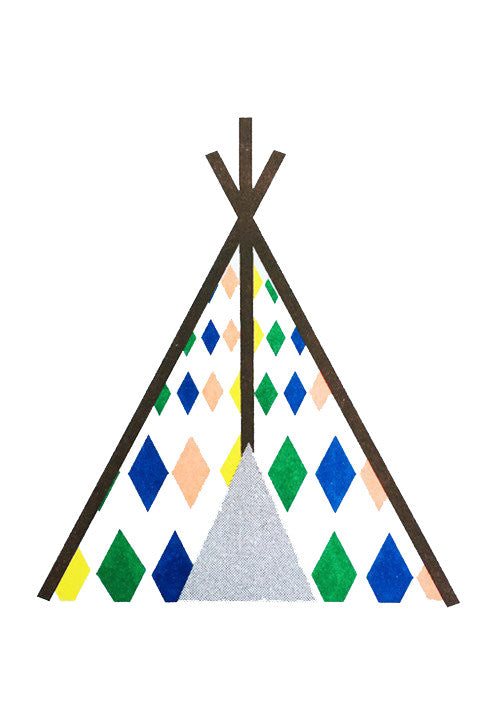 Scout Editions: A5 Teepee Print