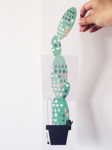 Scout Editions: Folding Cactus Card - Geometric