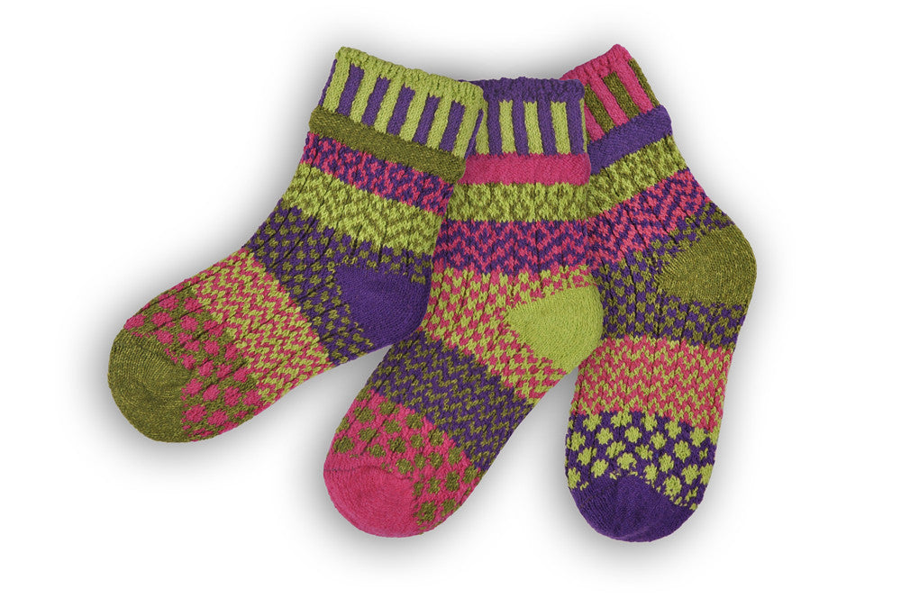 Solmate: Grasshopper Children's Socks