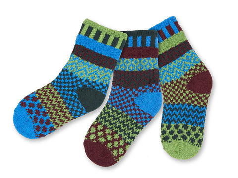 Solmate: June Bug Children's Socks