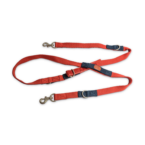 Multi-Function Leash - Red
