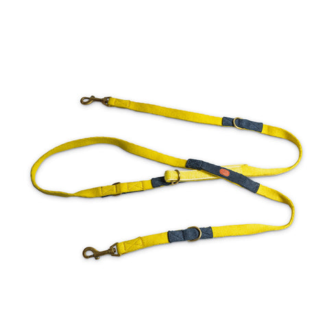 Multi-Function Leash - Yellow