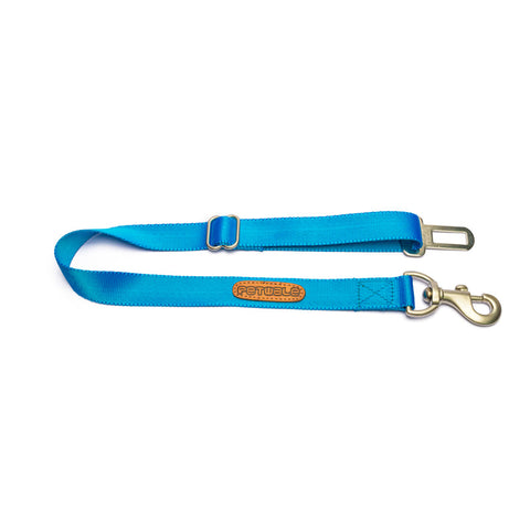 Blue Nylon Car Seat Belt