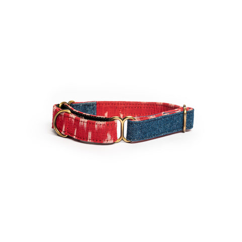 Blue Denim Martingale Collar