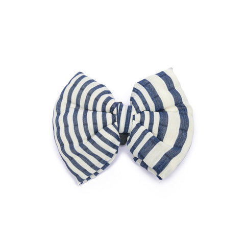 Blue Stripes Bow-tie