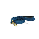 Blue Denim Leash with padded handle