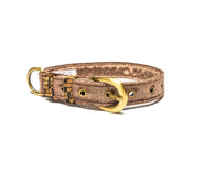 Brown Hoor Belt Collar