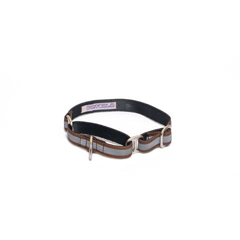 Reflective Brown Martingale Collar
