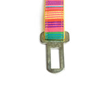 Colourful Stripes Seat Belt