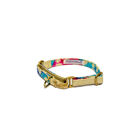 Cream Corduroy Martingale Collar