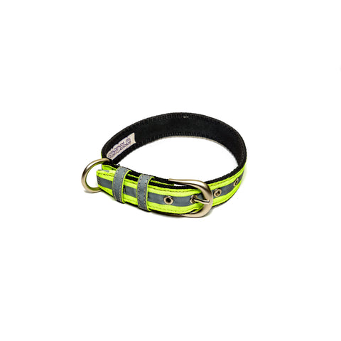 Reflective Green Belt Collar
