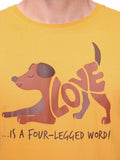 Love is a Four-Legged Word Unisex T-shirt