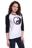 Yin Yang Unisex T-shirt (3/4 sleeves)