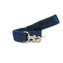 Navy Blue Cotton Leash with padded handle