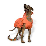 Orange Raincoats with Reflective Strips