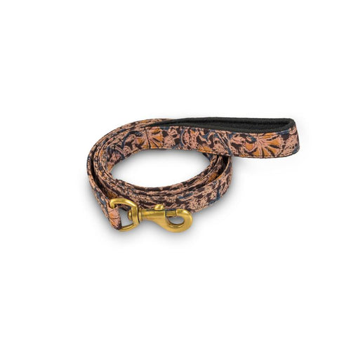 Desi Floral Leash with padded handle