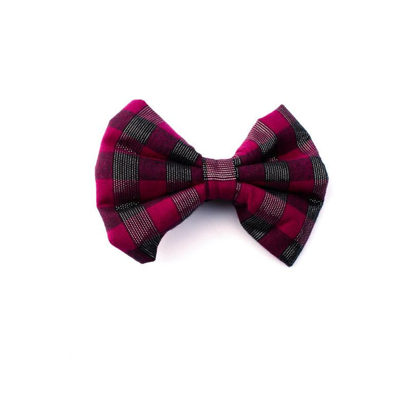 Red Checks Bowtie