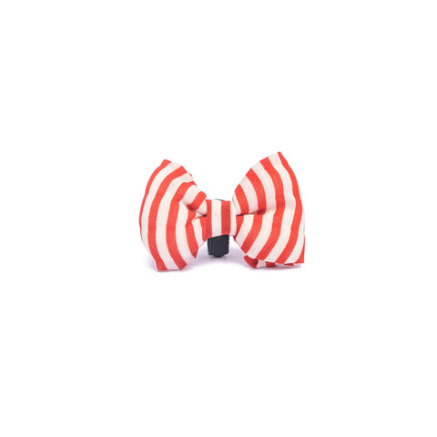 Red Stripes Bow-tie