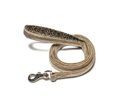 Silver Leash with padded handle