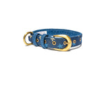 Star Denim Belt Collar