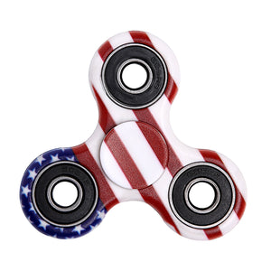 Camouflage Rotating Fidget Hand Spinner