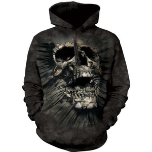 Breakthrough Skull Hoodie The Mountain