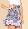 Yuavana Ruffled High Skirt