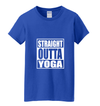 Straight Outta Yoga Women's Tee