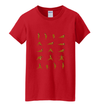 Yogi Positions 17 Pose Shirt