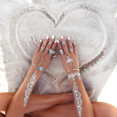 Bohemian Elephant Ring Set - Salezr.com