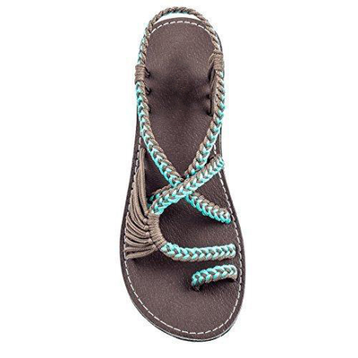 Yauvana Braided Sandals