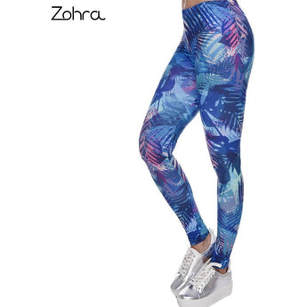 Zohra Vibrant Jungle Leggings - Salezr.com