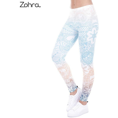 Zohra Mandala Leggings - Salezr.com