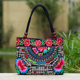 Vintage Embroidered Hand Bags - Salezr.com