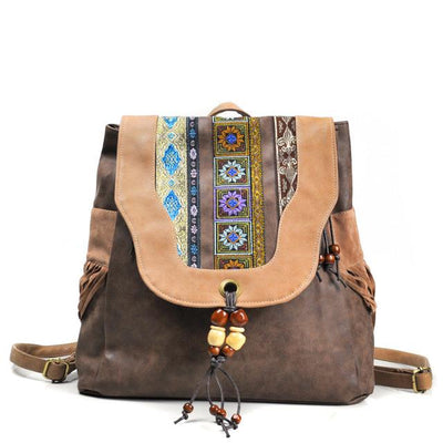 Nomadic Roadtripper Tasselled Rucksacks - Salezr.com