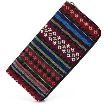 Geometric Tribal Zip Wallets