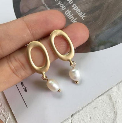 Yauvana Imitation Pearl Earrings