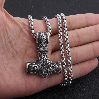 Mjölnir Stainless Steel Necklaces