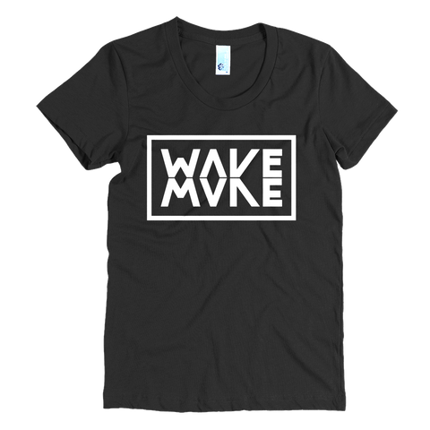 Make Wave/Wake - Women's short sleeve t-shirt