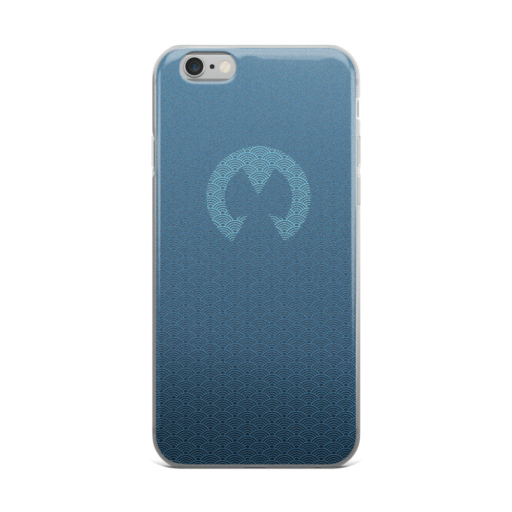 Branded M - Waves - iPhone case