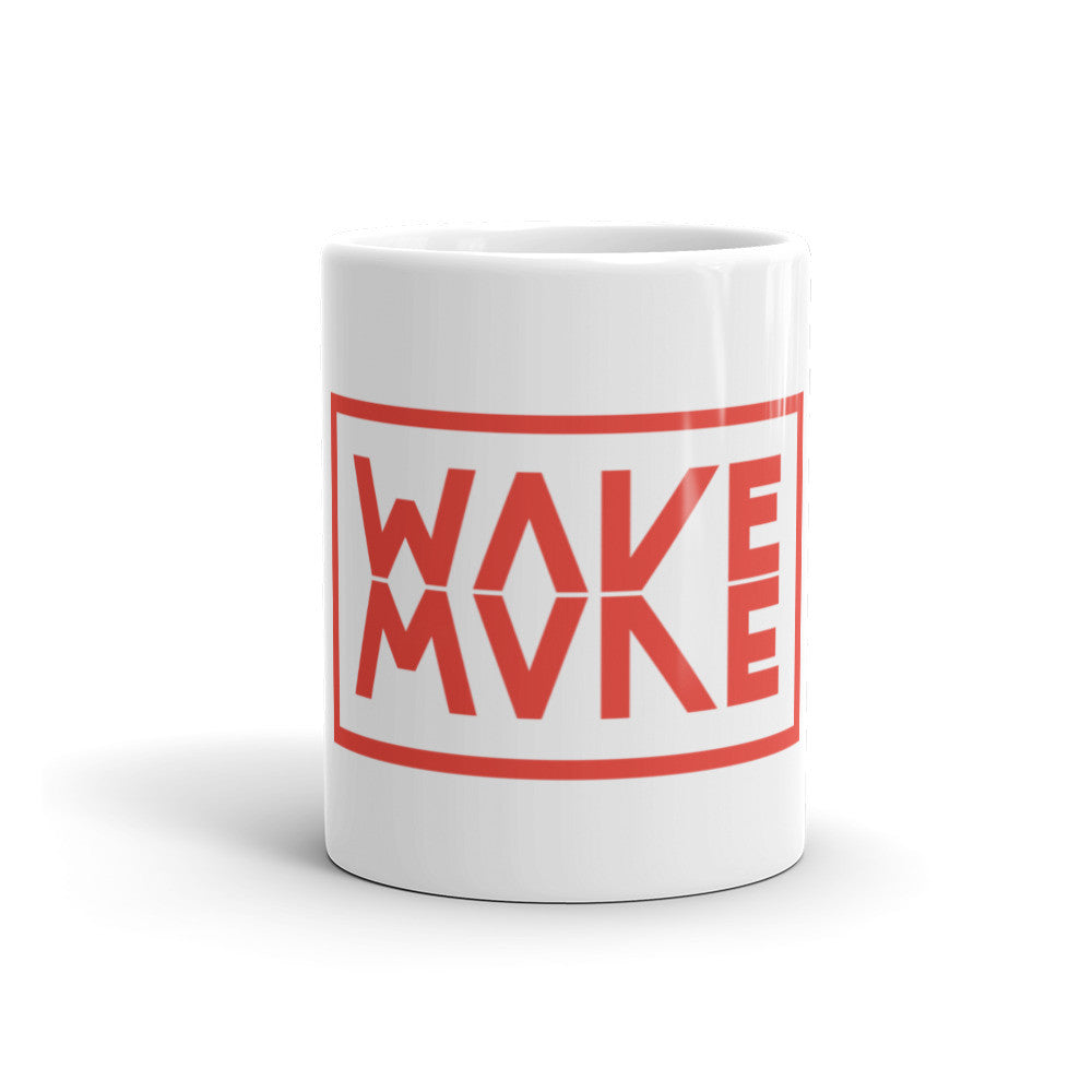 Make Wave/Wake Mug - Red