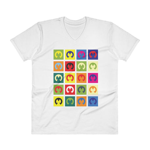 Motosurf Pop-Art V-Neck