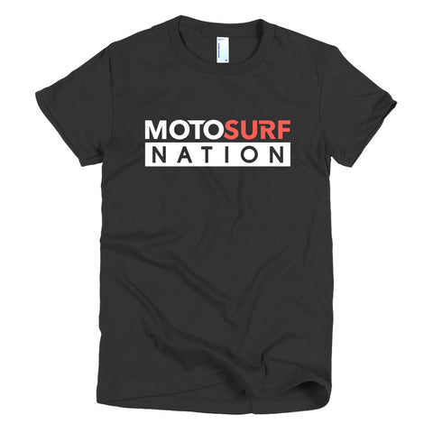 Motosurf - Short sleeve women's t-shirt