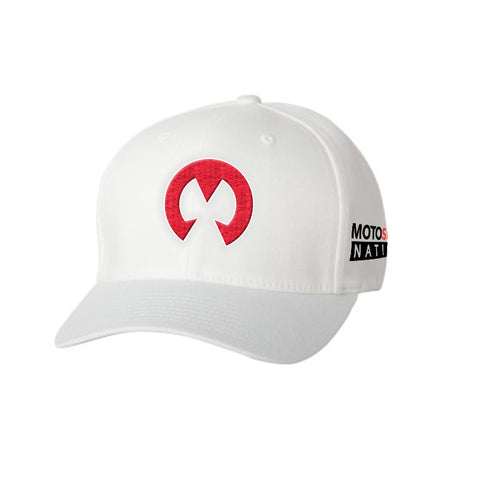 Motosurf Structured Twill Cap - White