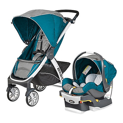 Chicco® Bravo® Trio Travel System in Polaris - Baby Strollers Center