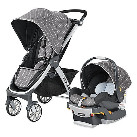 Chicco® Bravo® Trio Travel System in Lilla - Baby Strollers Center