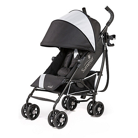Summer Infant® 3D-one™ Convenience Stroller in Eclipse Grey - Baby Strollers Center