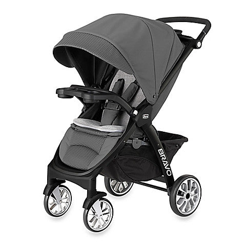 Chicco® Bravo™ LE Stroller in Coal - Baby Strollers Center