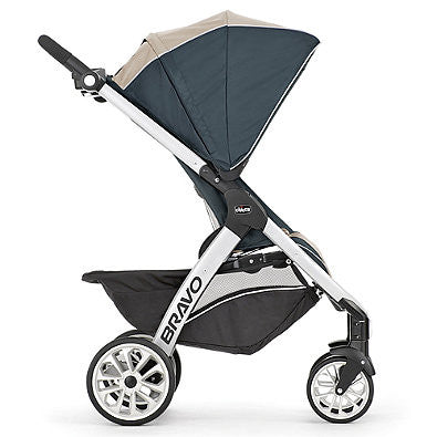 Chicco® Bravo® Trio Travel System in Papyrus™ - Baby Strollers Center