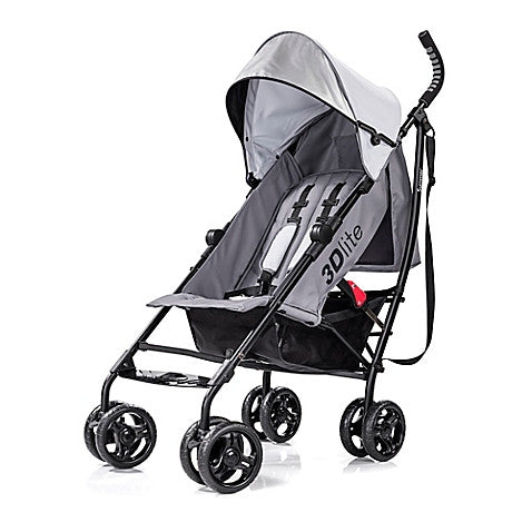 Summer Infant® 3D lite™ Convenience Stroller in Greys for Days - Baby Strollers Center